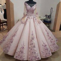 This long sleeve ball gown can be made as a wedding dress for any bride wanting something a bit different.  We are custom dress makers who c an produce whatever type of dress you need at a great price.  We also can make #replicas of couture #dresses that will look like the original in style but cost way less.  Email us for pricing and more info. DariusCordell.com