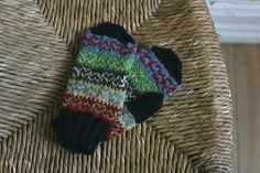 Ravelry: elisesophie's Left-Over Love   Pattern Ursula Mittens by Kate Davies