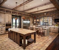 15 Interesting Rustic Kitchen Designs