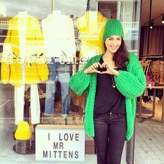 A lot of #ilovemrmittens love @department! #department #mtlawley #handmade #wool #collection #heartworking #knitwear #australia