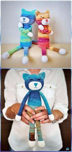 Crochet Amigurumi Large Cat Free Pattern - Crochet Amigurumi Cat Free Patterns