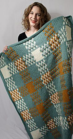 Ravelry: The Mommy Blanket pattern by Josi Hannon Madera