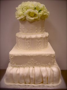 4-Tier Royal Satin.... I wouldn't ever probably have this, just thought it looked wonderous!