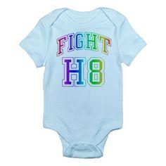 Say no to H8 Prop 8 Infant Bodysuit