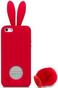 New Girl Red Bunny iPhone Case