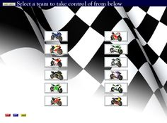 Manage your own MotoGp team from the comfort of your PC visit www.mgpmanager.com