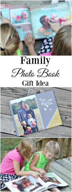 Looking for the perfect gift idea?  A Family Photo Book is personal and gorgeous.  Plus, it's easy to put together. #ad