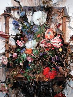 Art & Science Journal — Valerie Hegarty: Foreboding Nature There is a. Sculpture Art, Sculptures, Growth And Decay, Composition Art, Artistic Installation, Gcse Art, Assemblage Art, Surreal Art, Best Artist