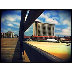 Rosarito Beach Hotel. Sitting in the dock of the bay.