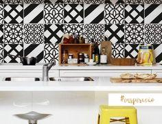 Azulejo na cozinha!