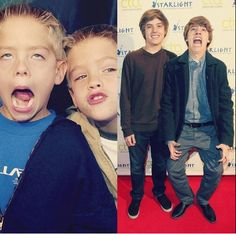 Cole and Dylan Sprouse! Memes Riverdale, Riverdale Funny, Bughead Riverdale, Sprouse Bros, Dylan Sprouse, Suit Life On Deck, Stranger Things, Zack Y Cody, Cole Spouse