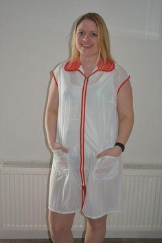 Nylons, Blouse Nylon, Staff Uniforms, Madame, Slip, Apron, Rompers, Shirt Dress, Summer Dresses