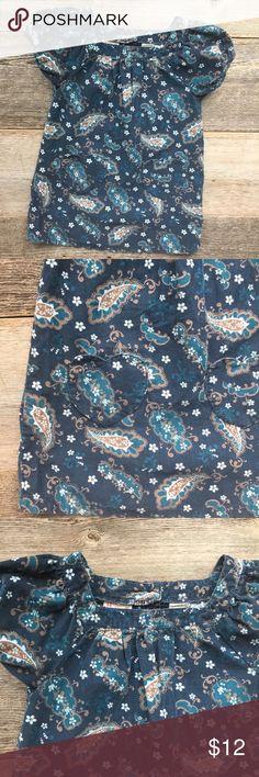 Cynthia Rowley Paisley Cord Dress Beautiful Hooray by Cynthia Rowley navy paisley print cord dress. Size 24 mo/2T; EUC. Cynthia Rowley Dresses Casual