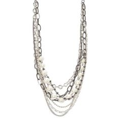 Simply Vera Vera Wang Multistrand Necklace