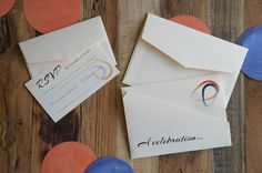 Yorokobi - origami-inspired wedding invitation by A Tactile Perception.