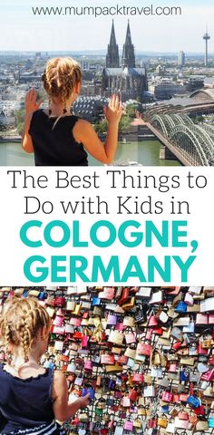 If you're planning a trip to Cologne, Germany with kids, you have to check this post out first! We will tell you the best things to do with kids in Cologne Germany so you don't miss a thing! Click on the pin to see our favorite things to do in Cologne and don't forget to save it to you travel board so you can find it later! #cologne #colognewithkids #familytravel #travelingwithkids