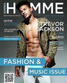 Kontrol magazine is the number one African American Fashion, and beauty, lifestyle and entertainment Magazine Hip Hop Playlist, Trevor Jackson, Latin Men, Magazine Man, Michael Ealy, Denim Trends, Queen Quotes, Handsome Boys, Celebrity News