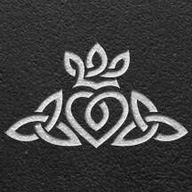 Celtic Heart, Crown & Trinity knot