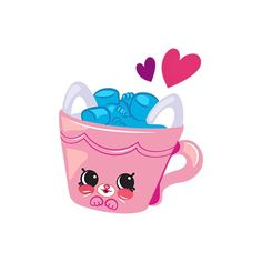 Shopkins, Emoji, Baby Showers, Claire, Paper Piecing, Anna, Ponies,  Collars, Kawaii