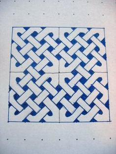 Tutorial on how to draw a Celtic knot