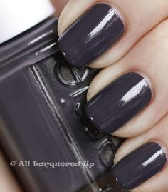 Was on the fence about this for some time, BUT I've decided I like it! (Essie Smokin' Hot)