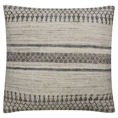"Tan Animal Down Fill Throw Pillow (14""x20"") - Jaipur Living, Beige"