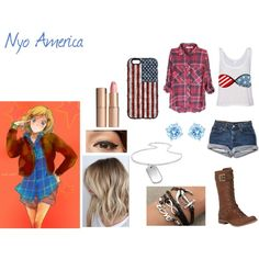 Nyo America by yashasreep on Polyvore
