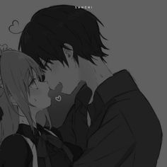 ⚠️ Cute Anime Profile Pictures, Matching Profile Pictures, Cute Anime Pics, Cute Anime Couples, Friend Anime, Anime Best Friends, Anime Couples Drawings, Couple Drawings, Deidara Wallpaper