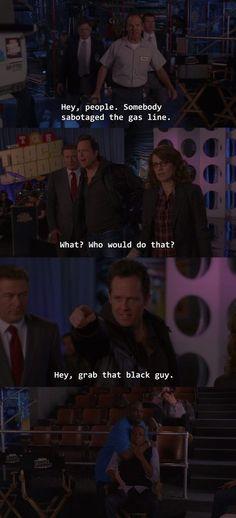 "30 Rock Season 5 Episode ""Hey, grab that black guy! Liz Lemon, Laughter The Best Medicine, 30 Rock, Black Men, Guys, Tv, Funny, Television Set, Black Man"