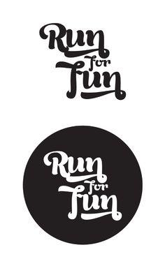 T-Shirts ::: Run For Fun by Plastilina Magenta, via Behance