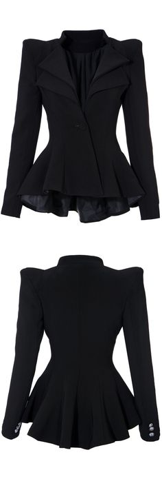 AWESOME Ruffled Blazer...