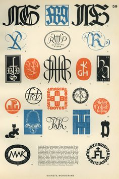 Typeverything.com - From Modern Lettering (Z250 .H64 Quarto), by...