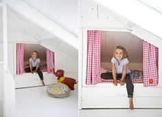 Simple & Lovely Sleeping Nooks - there are some really great ideas in here!