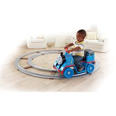 Fisher-Price Power Wheels Thomas the Train On Track 6-Volt Battery-Powered Ride-On