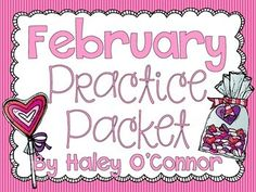 This packet is FULL of engaging activities for your little ones to do for homework, as enrichment activities, or for early finishers! It also would work great for homeschoolers! I hope you love it. All you have to do is make copies...no cutting or laminating required! The themes include Valentine's Day, Dental Health, and a few President's Day :).