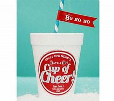 Cup of Cheer Stickers