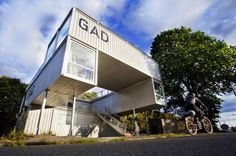 GAD is a Mobile Shipping Container Gallery For Traveling Art Exhibitions | Inhabitat - Sustainable Design Innovation, Eco Architecture, Green Building