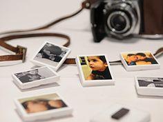 Manualidades y Artesanías | Imanes con fotos instantáneas | Utilisima.com
