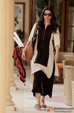 Deepika Padukone in a still from movie 'Piku'