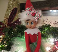Elf Tutu and Hat Wrap ... Elf Clothing Elf Clothes Elf Accessories ... SEVERAL Styles to Choose From