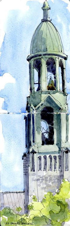 Saints Anges | The Sketchbook