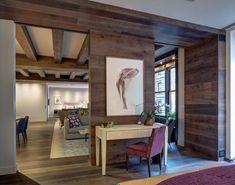 Union Square Loft II - Living Room by DHD Architecture & Interior Design on Interior Work, Interior Styling, Interior Architecture, Interior Design, Modern Contemporary Living Room, Modern Bedroom, Living Room New York, Loft Studio, Apartment Design