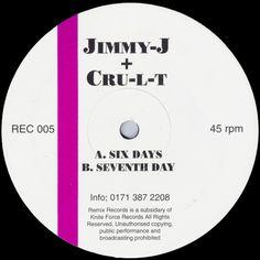 Jimmy J & C.R.U.L.T - Six Days (1994)
