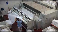 Máy giặt công nghiệp Gold Fist | Thiết bị giặt vắt sấy khô là ủi cán ép