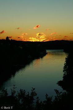 Solnedgang 22.9. Vedavågen, Karmøy
