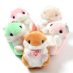 Don't have time for real hamsters? Then maybe these **Coroham Coron plushies** by ***Amuse*** is just what you need!