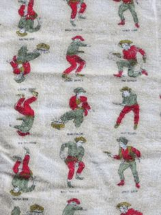 Hey, I found this really awesome Etsy listing at https://www.etsy.com/jp/listing/126607931/vintage-cotton-flannel-fabric-cowboy