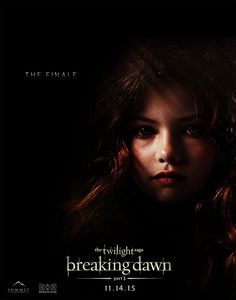 Breaking Dawn Pt 3 - Jacob And Renesmee - November 14, 2015. Get ready Twilight Fans! The love story between Jacob and Renesmee will hit the big screen next
