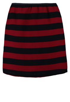 Compañía fantástica - Miniskjørt - rød Cheer Skirts, Red, Fashion, Moda, Fasion, Trendy Fashion, Rouge, La Mode