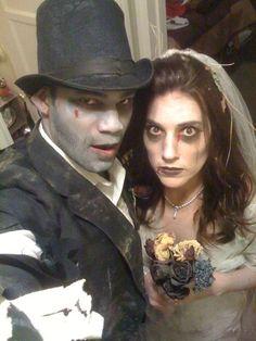 Corpse bride & groom